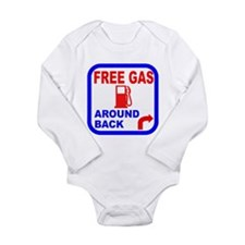 Free Gas Around Back Shirt T- Baby Suit