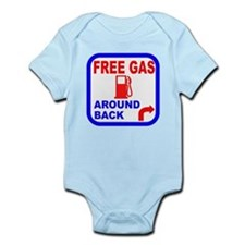 Free Gas Around Back Shirt T- Onesie