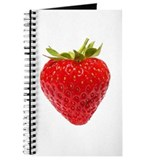 Cute Strawberries Journal