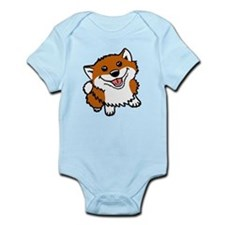 Happy Little Shiba Infant Bodysuit