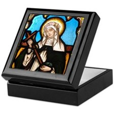 St Rose of Lima Keepsake Box