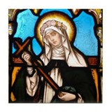 St Rose of Lima Tile Coaster
