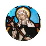 St Rose of Lima Ornament (Round)