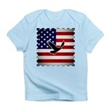 American Flag with Eagle Infant T-Shirt