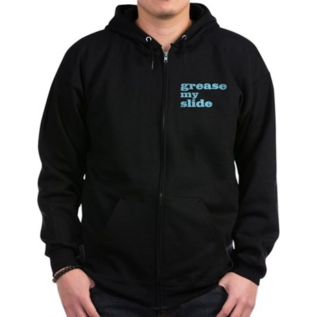 Grease My Slide Zip Hoodie (dark)