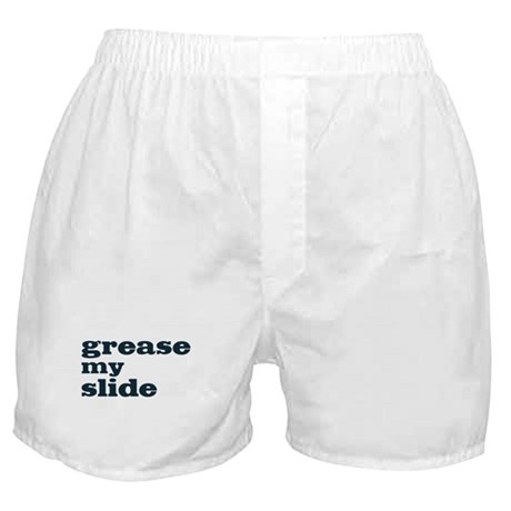 Grease My Slide Boxer Shorts