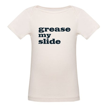 Grease My Slide Organic Baby T-Shirt