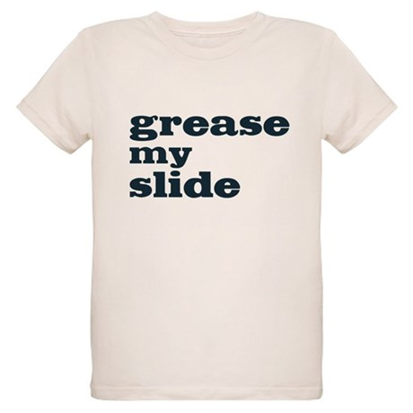 Grease My Slide Organic Kids T-Shirt