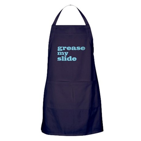 Grease My Slide Apron (dark)