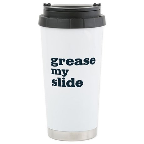 Grease My Slide Ceramic Travel Mug