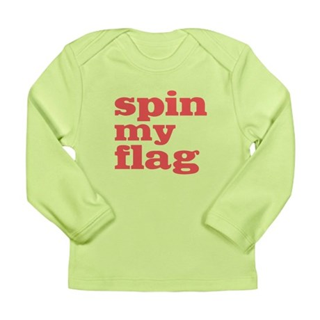 Spin My Flag Long Sleeve Infant T-Shirt