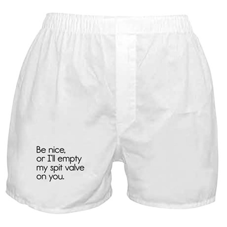 Spit Valve Boxer Shorts