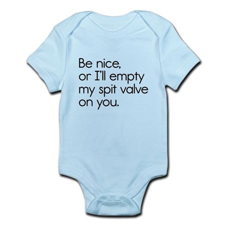 Spit Valve Infant Bodysuit