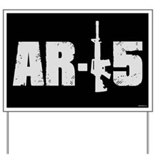 AR-15 Yard Sign