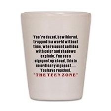 Teen Zone, 13th Gifts Shot Glass