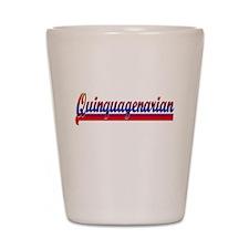 Quinquagenarian Shot Glass