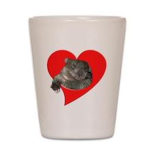 Wombat Love Shot Glass