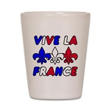 Vive La France Shot Glass