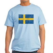 Vintage Sweden Flag T-Shirt