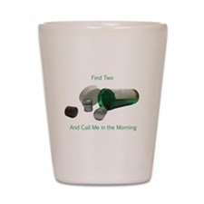 Cache Cure Shot Glass