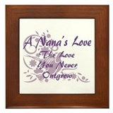 A Nana's Love Framed Tile