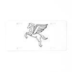 Chasing Pegasus Aluminum License Plate