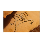 Chasing Pegasus 38.5 x 24.5 Wall Peel