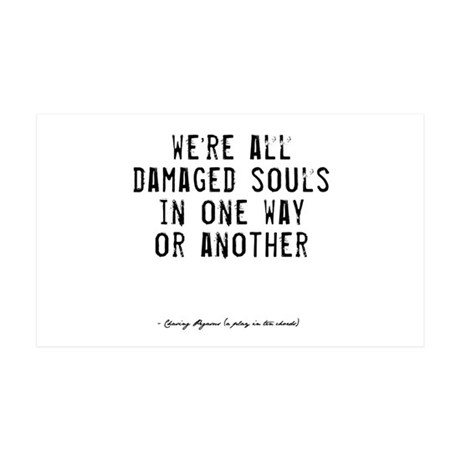 Souls Quote 38.5 x 24.5 Wall Peel