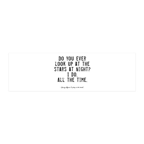 Stars Quote 21x7 Wall Peel