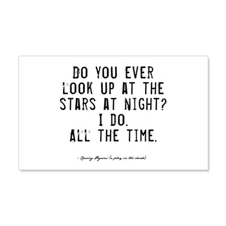 Stars Quote 22x14 Wall Peel
