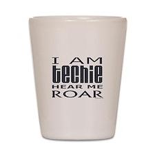 Techie Roar Shot Glass