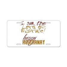 Lord of Misrule/Hogmanay Aluminum License Plate