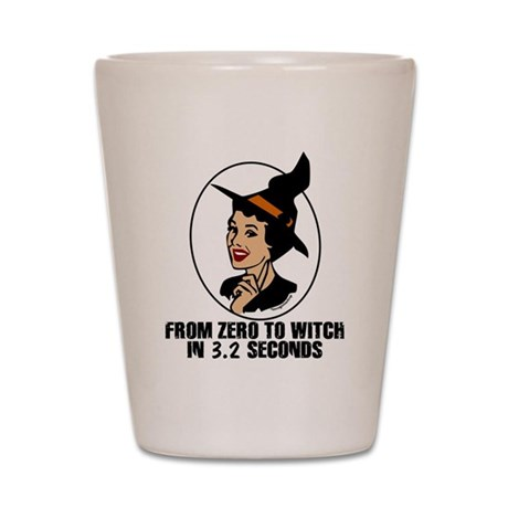 Zero to Witch Shot Glass