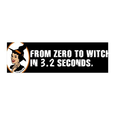Zero to Witch 42x14 Wall Peel