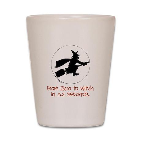 Zero to Witch Shot Glass