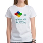I love my brother with autism Women's T-Shirt