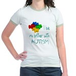 I love my brother with autism Jr. Ringer T-Shirt