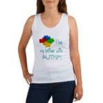 I love my brother with autism Women's Tank Top