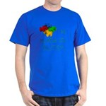 I love my brother with autism Dark T-Shirt