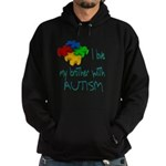 I love my brother with autism Hoodie (dark)