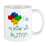I love my brother with autism Mug