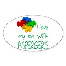 Asperger's Son Decal