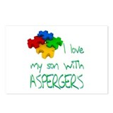 Asperger's Son Postcards (Package of 8)