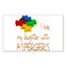 Asperger's daughter Decal
