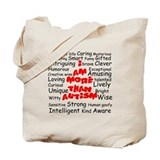 I am more than Autism Tote Bag