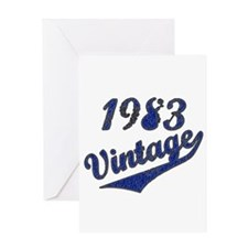 Cute Funny vintage 1983 Greeting Card