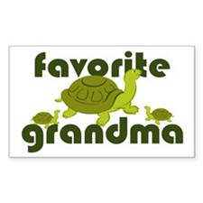 Favorite Grandma Decal