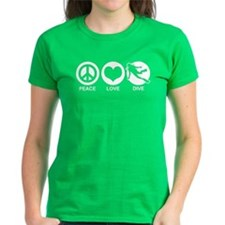 Peace Love Dive Tee