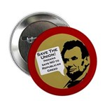 Indiana Abraham Lincoln Save the Union button