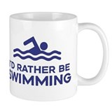 I'd Rather be Swimming Small Mug